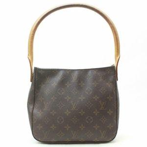 Auth Louis Vuitton Looping Mm Shoulder #2096L24